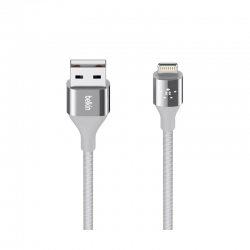 Cable Belkin USB para iPad/iPhone/iPod Platiado