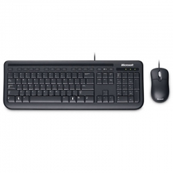 Combo Teclado y Mouse Microsoft Bussines USB Negro