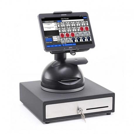 Soporte para Tablet con Impresora/Lector de Barras