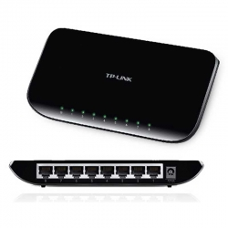 Switch TP-Link 8p GigaE 802.3x 16Gb Plug and Play