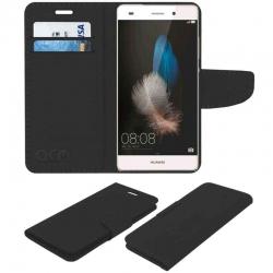 Estuche para Celular Huawei P8 Case Elegante Negro