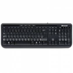Teclado Microsoft Wired 600 Inglés USB2.0 Windows