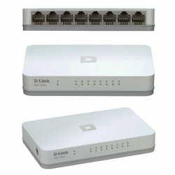 Switch D-Link DGS-1008A 8p GigaE Plug and Play