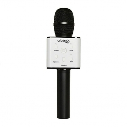 Micrófono Audio Karaoke Urbano Design Negro USB