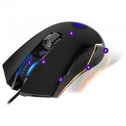 Mouse Primus Gaming Gladius USB 6 Botones 4000dpi