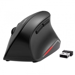 Mouse Lekvey 7L-01 Wirless Ergonómico Recargable