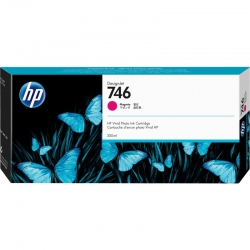 Cartucho de Tinta HP 746 300ml Magenta Original