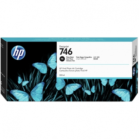 Cartucho de Tinta HP 746 300ml Negro Original