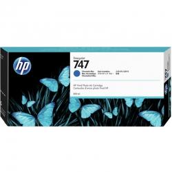Cartucho de Tinta HP 747 300ml Azul Cromático Orig