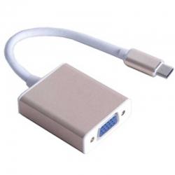 Cable Adaptador AGILER AGI-1237 USB C 3.1 VGA