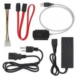 Cable Convertidor 1 USB 2.0 AGI-1110 IDE/SATA