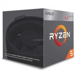 Procesador AMD Ryzen 5 2400G AM4 3.6GHz L2 65W