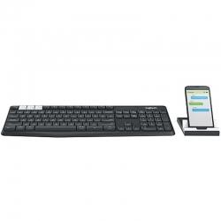Teclados Logitech K375S Bluetooth Soporte Tablet