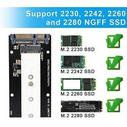 Encapsulador Genérico NGFF SSD M.2 10Gbps USB 3.1