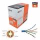 Caja de Cable UTP Nexxt 4 Par 305m Cat6 23AWG RoHS