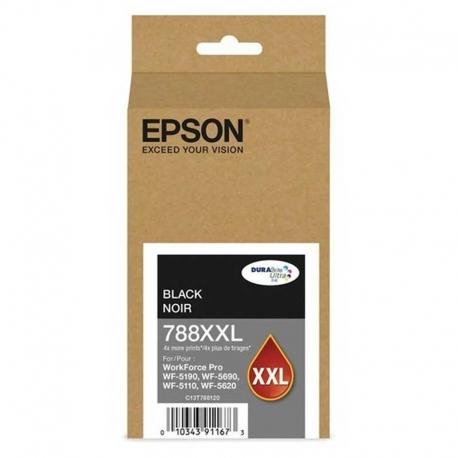 Cartucho de Tinta EPSON T788XXL120-AL Negro WF