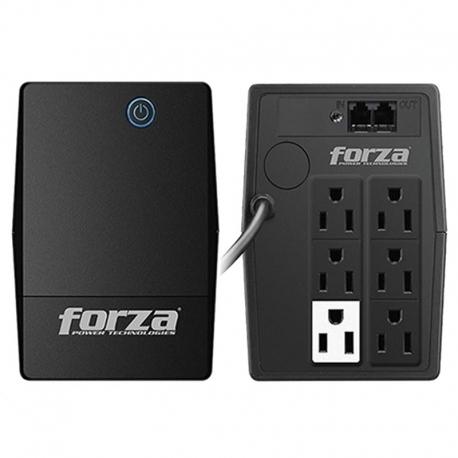Batería Forza NT-1011 1000VA 500W 120V 6 x Nema