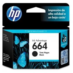 Cartuchos Tinta HP 664 Negro Original 120 Pag