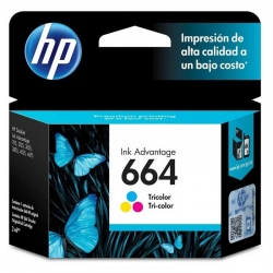 Cartucho de Tinta HP 664 Advantage Original Tri