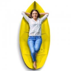 Saco Inflable Xtech para Descansar 200kg Amarillo