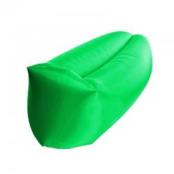 Saco Inflable Xtech para Descansar 200kg Verde