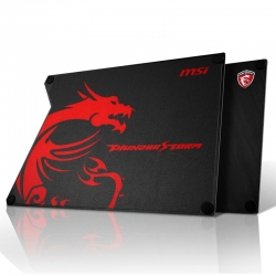 MousePad Gaming MSI Thunderstorm Aliminium 2 Lados