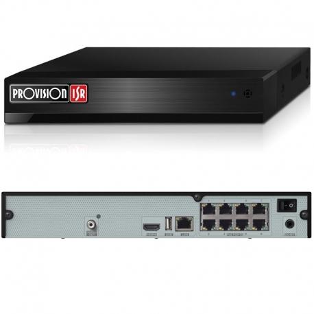 NVR Provision NVR5-8200PX+MM 8CH PoE 1080p ONVIF