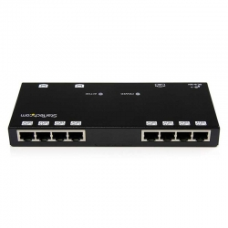 Switch Startech ST1218T 8p MegaE 3p VGA Cat5 150 m