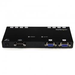 Switch Startech ST1218T 8p MegaE 3p VGA Cat5 150 m