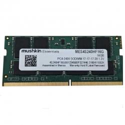 Memoria RAM MUSHKIN 16GB DDR4 SODIMM 2400Mhz 1.2V
