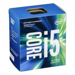 Procesador Intel I5 7400 LGA1151 3.0GHz 4 núcleos