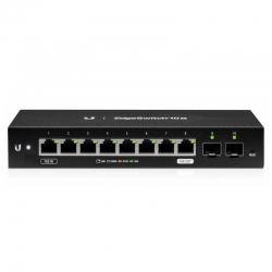 Switch Ubiquiti ES-10X 8p GigaE 2p SFP PoE Capa2