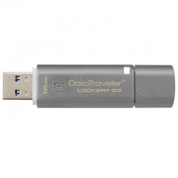 Memoria USB Kingston Locker+ G3 16GB USB3.0 135MB