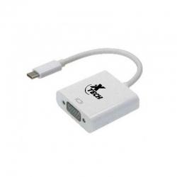 Adaptador Xtech XTC-550 USB Tipo C a VGA Hembra