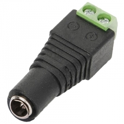 Conector Eléctrico Epcom JR53 Hembra 12V DC 3.5mm