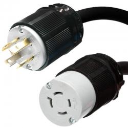 Adaptador Genérico Nema L1430P a L1420R 20A 120V