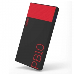 Bateria Portatil LOGIC PB10 10000Mah LED Power