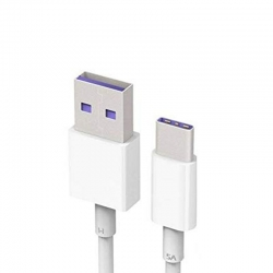Cable Micro USB Tipo C Huawei Carga y Datos Blanco