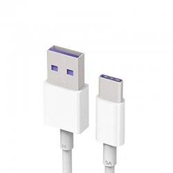 Cable Micro USB Tipo C Huawei Carga y Datos Blanco