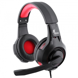 Headset Xtech Ixion Gaming 3.5mm y USB Antienredos