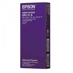Cinta de Impresion Epson ERC-31B Negro Orignal