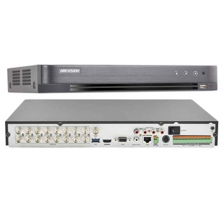 DVR Hikvision DS-7216HUHI-K2 16CH + 16CH IP 8MP