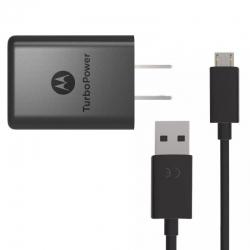 Cargador Motorola 3.0 Micro USB 3.6-6 V DC 3Ah