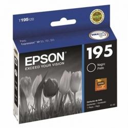 Cartucho de Tinta Epson T195 Negro Original 4ml