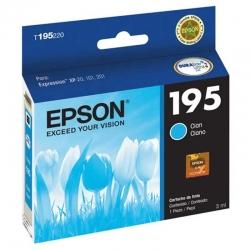 Cartuchs de Tinta Epson T195 Cián Original 3ml