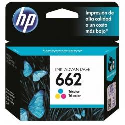 Cartucho de Tinta HP 662 Tricolor 2ml 100 páginas