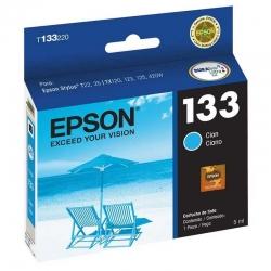 Cartucho de Tinta Epson 133 Cián Original 5ml