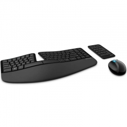 Combo de Teclado y Mouse Microsoft Ergonómico