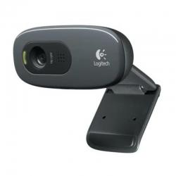 Cámara Web Logitech C270 HD 720p Micrófono HD