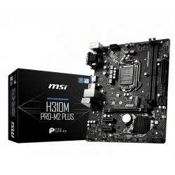 Tarjeta Madre MSI H310M Pro M2 Plus LGA1151 2DDR4